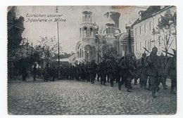 Wilna. Wilno. Soldiers. Church. - Lithuania