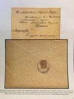 Ardatov Zemstvo Mail Cover 1895 Russia - 1857-1916 Empire