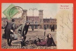 Nw5240 Peu Commun BUCURESCI Gara De NORD Bucarest Accident Bicyclette Gare 1904-MAIER STERN Pasagiul Vilacros 2006 - Romania