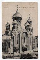 Wilna. Wilno. Vilna. Romanov  Church. - Lithuania