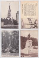 Vosges - Lot De 52 Cartes Postales Anciennes De Monuments Aux Morts De La Grande Guerre - France
