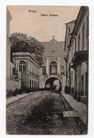 Wilna. Wilno. Vilna. Ostrabramskaya Church. Inscription In One Row. - Lithuania
