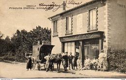 COEUILLY    Produits DAMOY, Avenue Du Parc.     2 Scans - Champigny Sur Marne