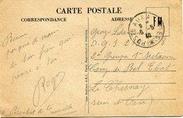 FRANCE CARTE DE FRANCHISE MILITAIRE (LA VISITE AU FRONT) DEPART POSTE AUX ARMEES 6-5-40 POUR LA FRANCE - Marcophilie (Lettres)