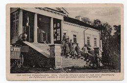 Wilna. Wilno. Vilna. German Officers. - Lithuania