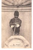 Bruxelles-Manneken-Pis-en Soldat Français Du 19e Chasseur-nommé Caporal Le 7 Mars 1919 - Personnages Célèbres