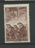 France  1938  N° 390  NF** - Unused Stamps
