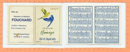 Calendrier 1969 / Parfums Bourjois / Ramage - Calendriers
