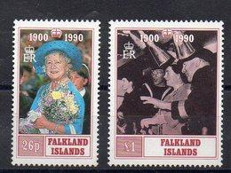 FALKLAND   Timbres Neufs ** De 1990   ( Ref 2398 )  Famille Royale - Queen Mother - Falkland