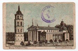 Wilna. Wilno. Vilna. Cathedral Square. - Lithuania