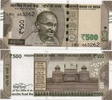 INDIA       500 Rupees       P-114       2018       UNC  [ Sign. Patel - Letter S ] - India