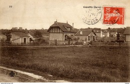 COEUILLY (Seine)  Carte écrite En 1911   2 Scans   TBE - Champigny Sur Marne