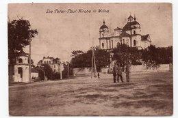 Wilna. Wilno. Vilna. Petr And Pavel Church. - Lithuania