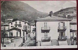 Cpa ITALIE TORRE PELLICE VIA ROMA E HOTEL DE L'OURS 1907 EDIZ. PROP. LIBRERIA GILLES . RARE ITALY OLD PC - Italie
