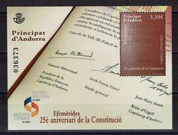 HB ANDORRA 2018 ANNIVERSAIRE DE LA CONSTITUTION - Andorra Española
