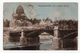 Wilna. Wilno. Vilna. Bridge And Church. - Lithuania