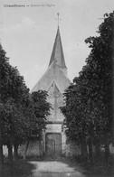CPA, Chauffours, Avenue De L'Eglise, 1919 - France