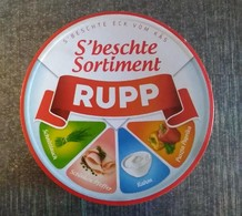 Boite Fromage Fondu RUPP 8 Portions Avec étiquette Des Portions - Boxes