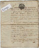 VP13.316 - Cachet Généralité De LA ROCHELLE - Acte De 1776 - Quittance Mr CHANGEARD Perruquier à ROCHEFORT & PARIS - Seals Of Generality