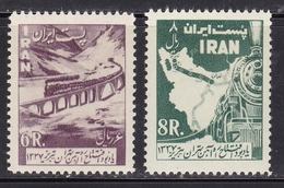 SETS IRAN Trains Railway MNH** CV 45€ - Eisenbahnen