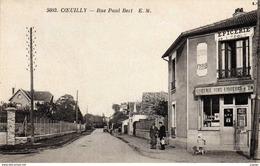 COEUILLY.  Rue Paul-Bert  Epicerie De L'Ecole  2 Scans  TBE - Champigny Sur Marne