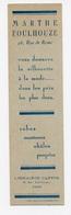 Marque-page Prêt à Porter Marthe Foulhouze à Paris - Marque-Pages