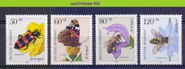 Mwe2679 FAUNA VLINDERS BIJEN KEVER FLOWER INSECTS BEES BEETLE BUTTERFLIES SCHMETTERLINGE DEUTSCHE BUNDESPOST 1984 PF/MNH - Sonstige