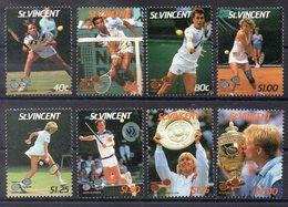 SAINT VINCENT   Timbres Neufs ** De 1987   ( Ref 2392 )  Sport - Tennis - St.Vincent (1979-...)