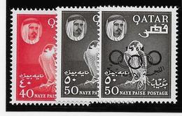 Qatar N°30,31,42 - Neuf ** Sans Charnière - TB - Qatar