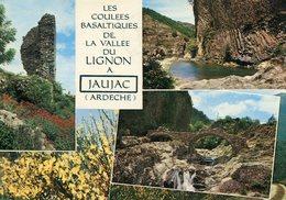 07 - JAUJAC - Les Coulées Basaltiques. Multi-vues - Frankreich