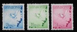 RyuKyus Poste Aérienne N°1/3 - Neuf ** Sans Charnière - TB - Stamps