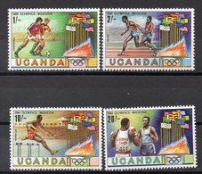 OUGANDA   Timbres Neufs ** De 1980   ( Ref 2404 B)  Sport -JO - Ouganda (1962-...)