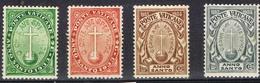 DO 7302 VATIKAAN SCHARNIER YVERT  NRS 40/43  ZIE SCAN - Vatican