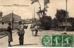COEUILLY   Rue De Sévigné. Boulevard De La Source. 2 Scans  TBE - Champigny Sur Marne