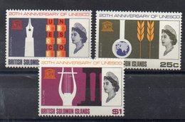 ILES SALOMON   Timbres Neufs ** De 1966   ( Ref 2406)  Unesco - Salomon (Iles 1978-...)