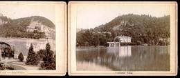 2 Foto, Veldes, Louisenbad, Hotel Mallner, Oberkrain,Photographisches Atelier Benedikt Lergetporer - Slowenien