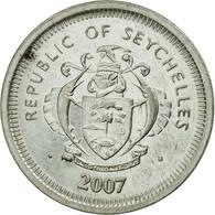 Monnaie, Seychelles, 25 Cents, 2007, Pobjoy Mint, TTB, Nickel Clad Steel, KM:49a - Seychelles