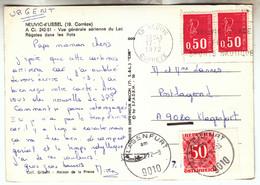 1972 - Klagenfurt - Taxe De 50 Groschen Sur CPA Française - FRANCO DE PORT - Impuestos