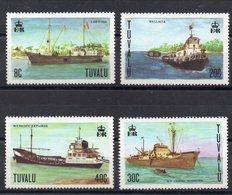 TUVALU   Timbres Neufs ** De 1978   ( Ref 2413 ) Tranports - Bateaux - Tuvalu