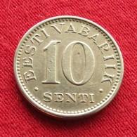 Estonia 10 Senti 1931 KM# 12  Estonie - Estonia