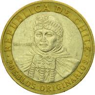 Monnaie, Chile, 100 Pesos, 2005, Santiago, TTB, Bi-Metallic, KM:236 - Chili