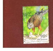 AUSTRALIA  -  SG 2142    -      2001   BIRD OF PREY:  RED GOSHAWK     -       USED - Usati