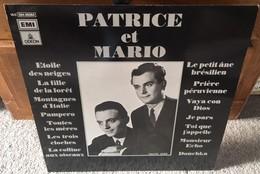 LP 33 T -PATRICE Et MARIO Orchestre Jean Faustin EMI Records Switzerland - Vinyl Records