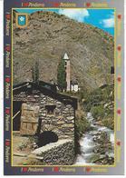 N°733 Valls D'Andorra Canillo. Vue Partielle. L'Ancien Moulin - Andorre