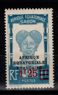 Gabon - YV 111 N** Gomme Coloniale - Unused Stamps