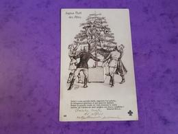 Cp Illustration Satirique E PLOIX Noel Des Alliès Guerre 1914.18 Armée De Guillaume Belge Française Russe Anglaise - Umoristiche