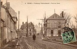 Reims -   Faubourg  Fléchambauult - Pont  Du  Canal. - Reims