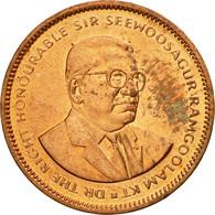 Monnaie, Mauritius, 5 Cents, 2012, TTB, Copper Plated Steel, KM:52 - Maurice