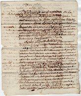VP13.319 - Cachet Généralité POITIERS - Acte De 1781 - Entre Mrs ANDOUET à CHERVEUX & Louis ?? - Seals Of Generality