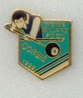 Rare Pin's New Billard Tool De 1992 Corbie (département 80) - Billiards
